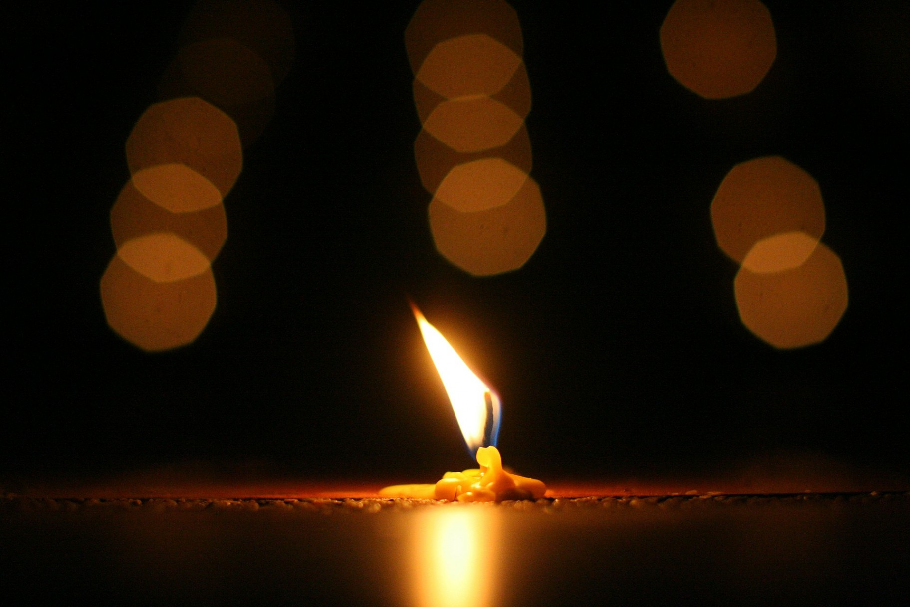 Candle Meditation Tranquility Peace